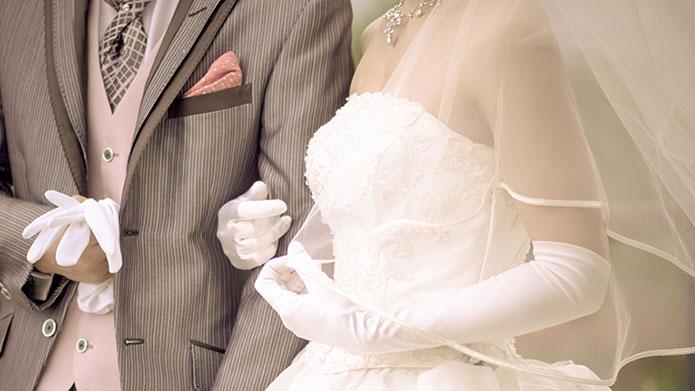 結婚のお祝いの例文イメージ